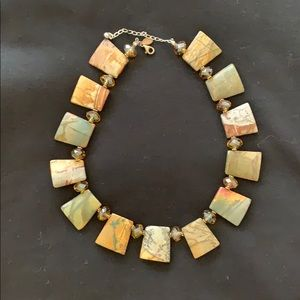 Jewelry - One-of-a-kind stone necklace